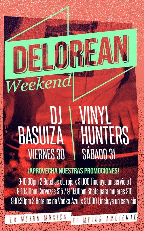DJ Basuiza y Vinyl Hunters @ Delorean