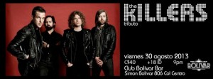 Tributo a The Killers este viernes 30 de agosto @ Club Bolívar