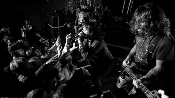 Foto: The Chariot en vivo
