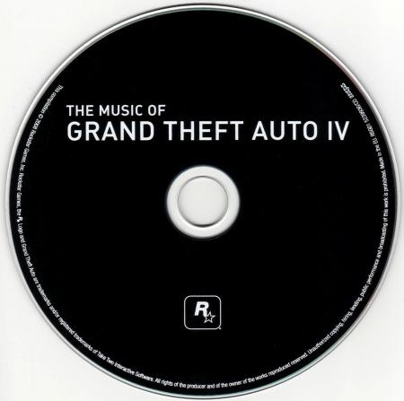 Disco físico del soundtrack de Grand Theft Auto V