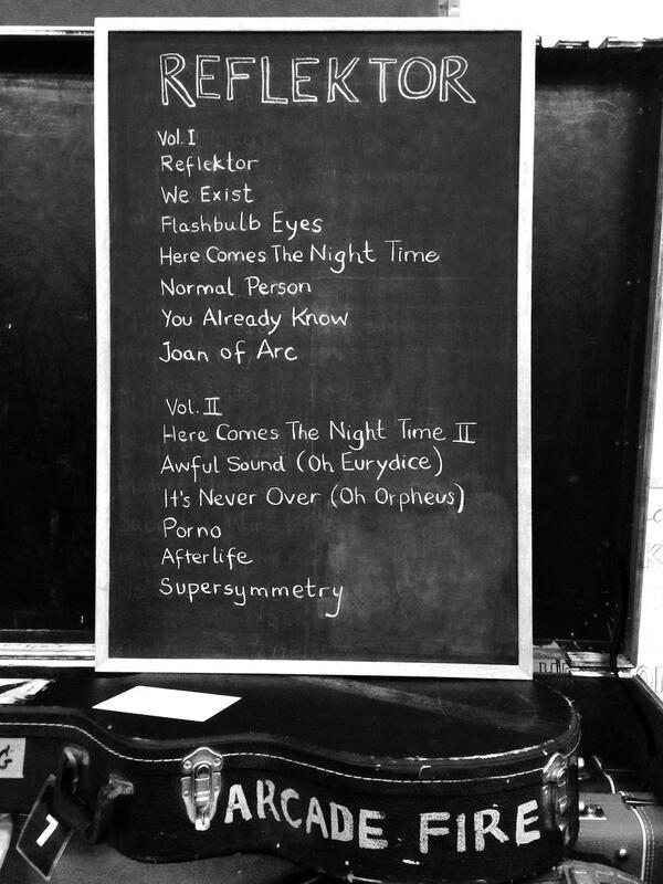 Tracklist de 'Reflektor', el nuevo álbum de Arcade Fire
