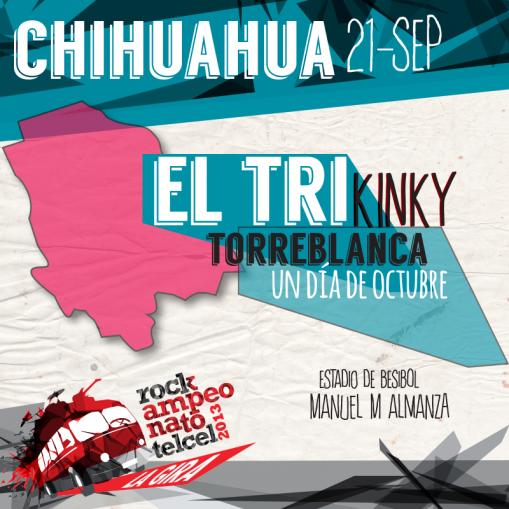 Rockampeonato Telcel 2013 en Chihuahua