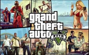 Arte de Grand Theft Auto V