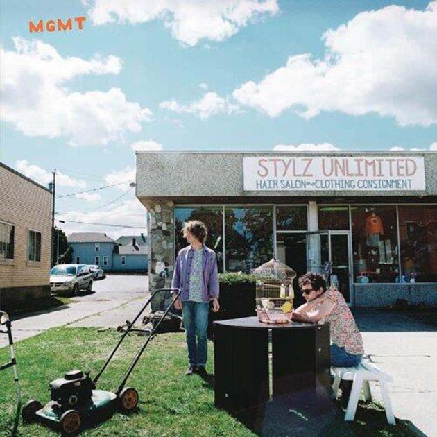 Portada del nuevo álbum auto-titulado de MGMT