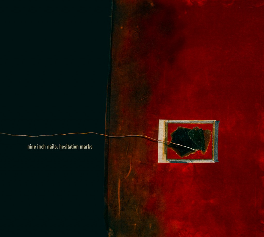 Portada de 'Hesitation Marks' de Nine Inch Nails