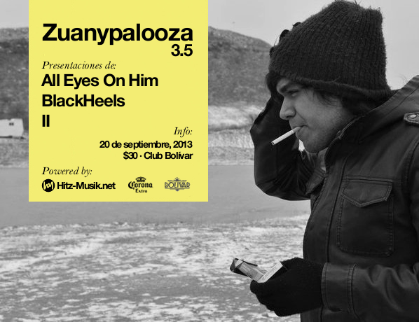 Zuanypalooza 3.5 este viernes 20 de septiembre @ Club Bolívar