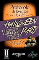Halloween Party este miércoles 30 de octubre @ Club Bolívar