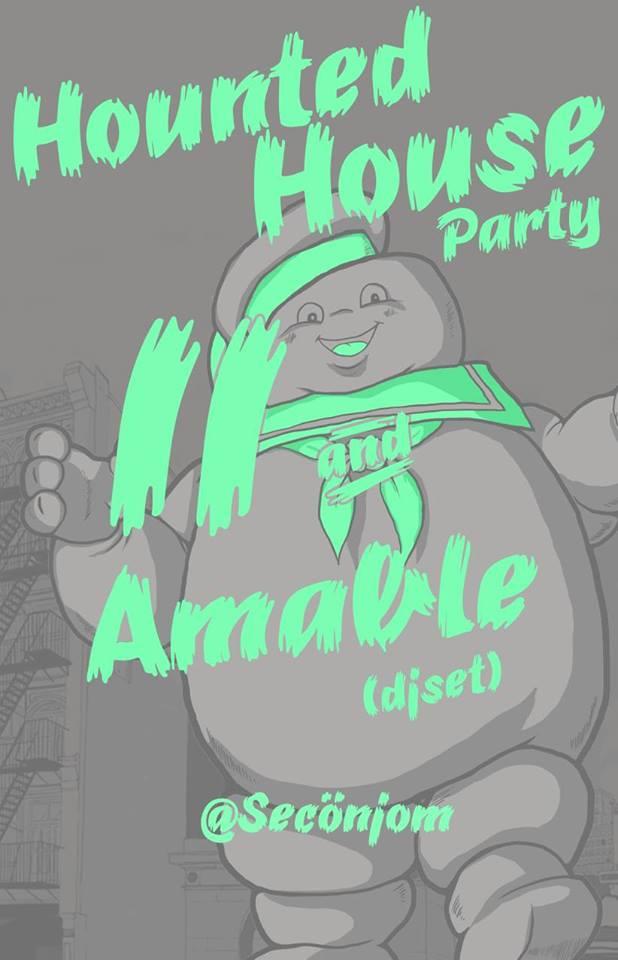 Haunted House Party este viernes 1 de noviembre @ SecÖnjom