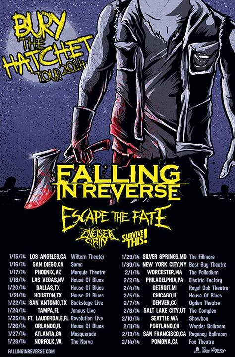 Bury The Hatchet Tour