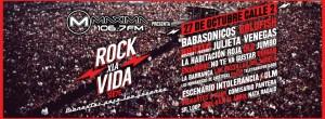 Se acerca el festival Rock X La Vida en Guadalajara