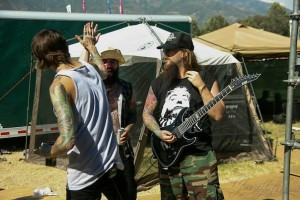 Suicide Silence con Mitch Lucker