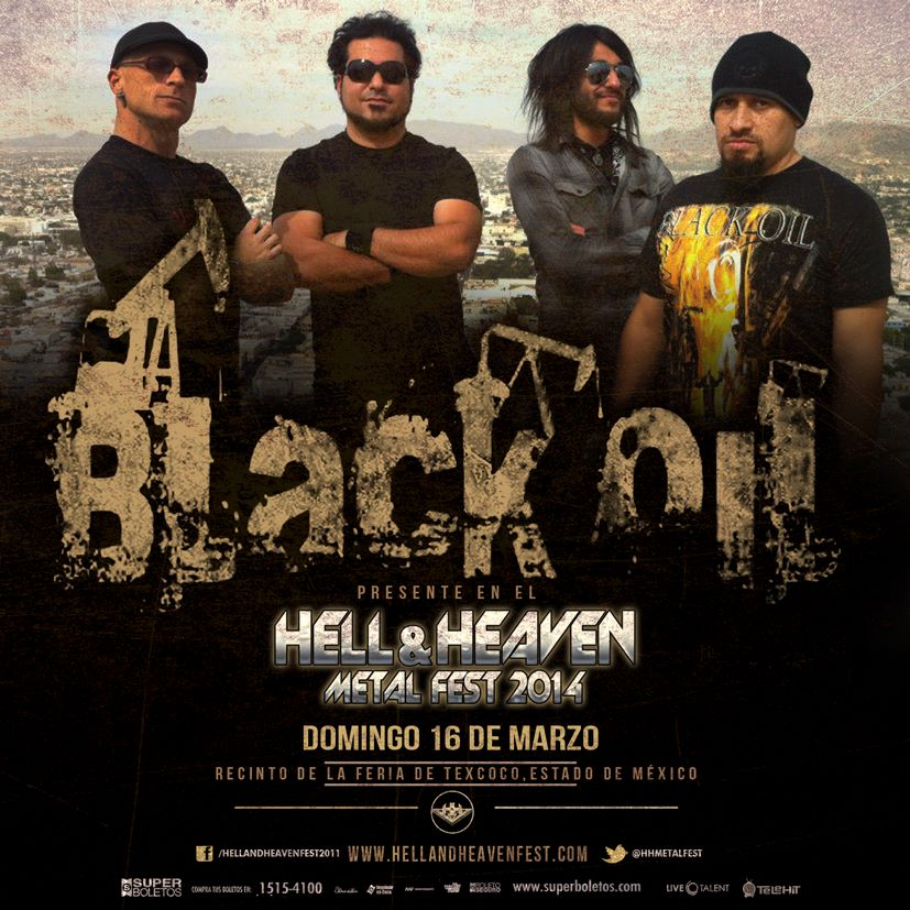 Black Oil en el Hell & Heaven Metal Fest 2014