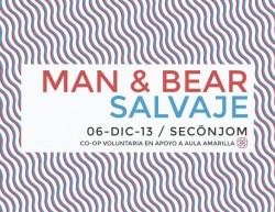 Man & Bear y Salvaje este viernes 6 de diciembre @ SecÖnjom