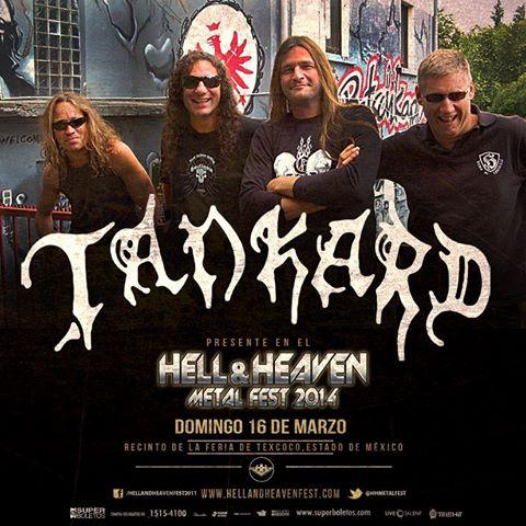 Tankard en el Hell & Heaven Metal Fest 2014