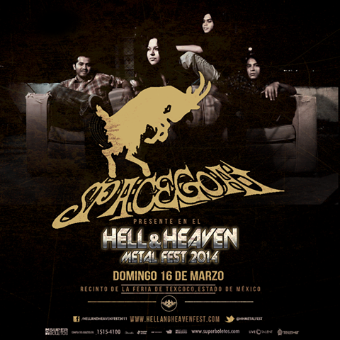 Spacegoat en el Hell & Heaven Metal Fest 2014