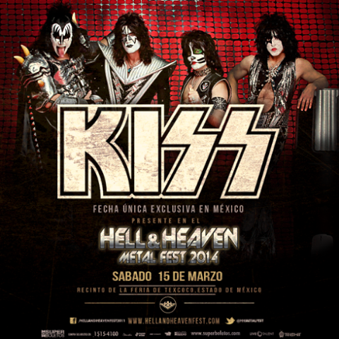 Kiss en el Hell & Heaven Metal Fest 2014