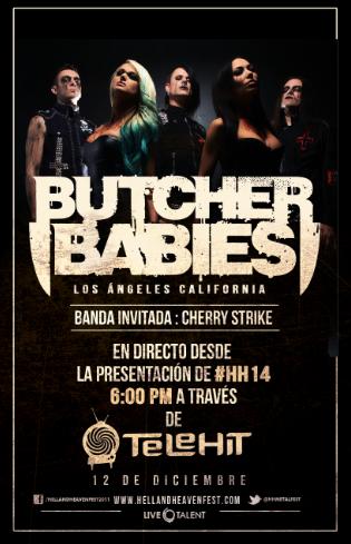 Butcher Babies y Cherry Strike en la rueda de prensa del Hell & Heaven Metal Fest 2014