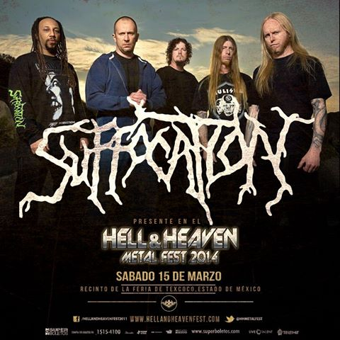 Suffocation en el Hell & Heaven Metal Fest 2014