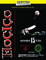 HOCICO este viernes 15 de noviembre @ Zenttro Underground