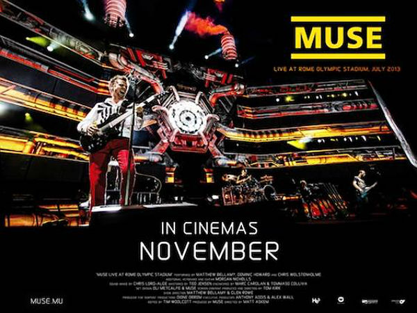 Streaming de Muse: Live at Rome Olympic Stadium