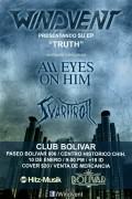 Windvent presentando su EP 'Truth' este viernes 10 de enero @ Club Bolívar
