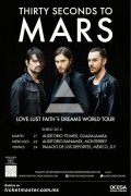 Thirty Seconds To Mars este martes 21 de enero @ Auditorio Telmex (Guadalajara, Jal.)