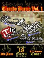 Tirando Barrio Vol. 1 este sábado 18 de enero @ Don Burro Foro Cultural
