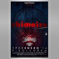 Chimaira este viernes 17 de enero @ F. Bolko (Guadalajara, Jal.)