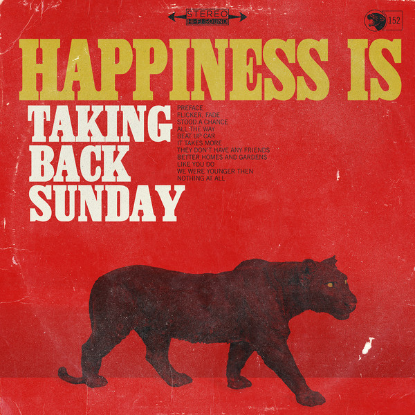 Portada de 'Happiness Is', el nuevo álbum de Taking Back Sunday