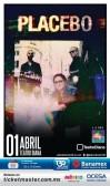 Placebo este martes 1 de abril @ Teatro Diana (Guadalajara, Jal.)