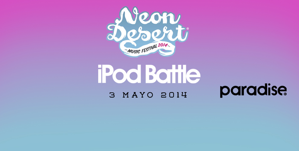iPod Battle Neon Desert