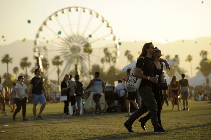 Coachella 2014 / Imagen cortesía de: Chris Pizzello/Chris Pizzello/Invision/AP