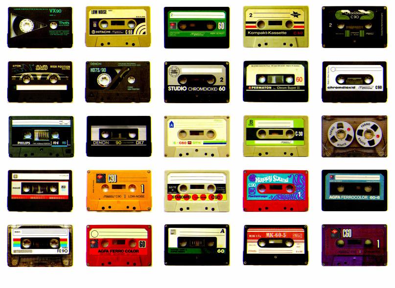Sony anuncia un cassette que puede almacenar 64,750,000 canciones